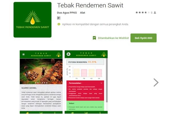 Aplikasi Mobile Tebak Rendemen Sawit