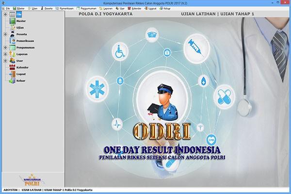 Sistem Penerimaan Polisi Seluruh Polda di Indonesia