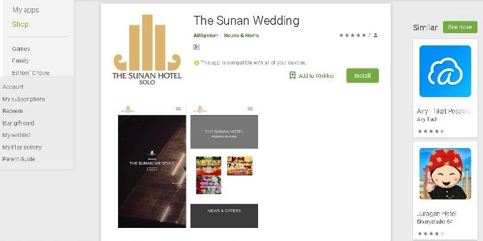 The Sunan Wedding