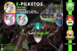 Satu-satunya pemilihan Ketua Osis tingkat SMP berbasis ONLINE di Kota Surakarta