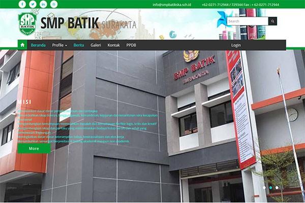 Cybershcool SMP Batik Surakarta